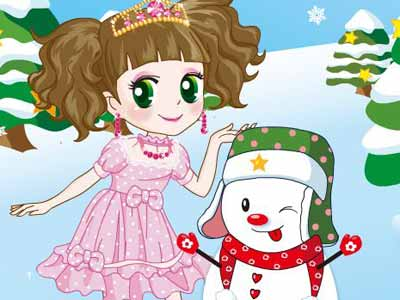 A-Princess-And-A-Snowman-400x300