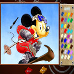 mickey-skating-online-coloring-page-150x150