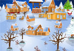 snowy-village-decor