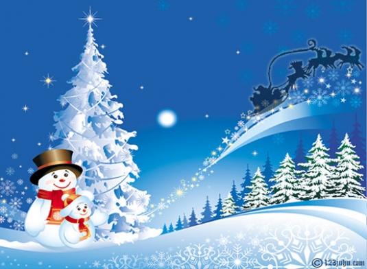 Srecni novogodisnji i bozicni praznici