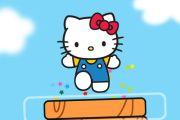 Hello Kitty skače