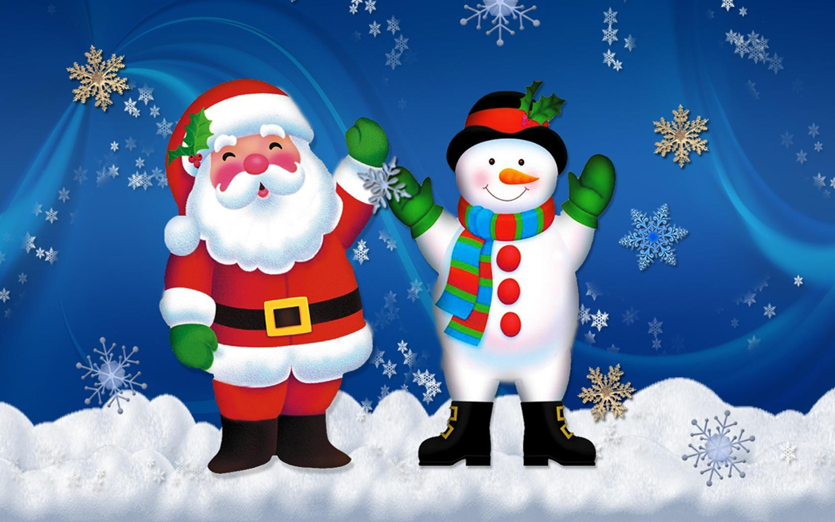 santa christmas wallpapers