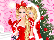 barbie christmas dress up180x135